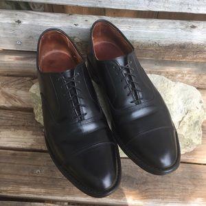 Allen Edmonds Boardroom Black Captoe Oxford's 9.5